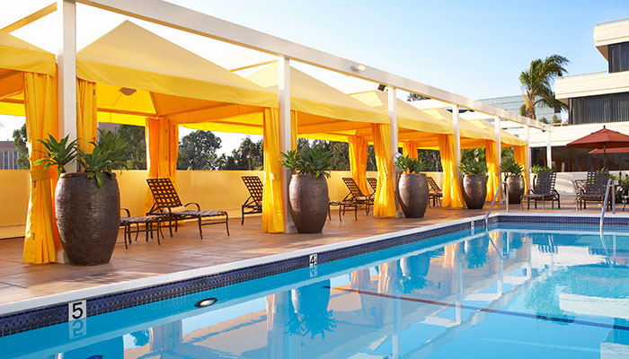 The Duke Hotel Pool Newport Beach