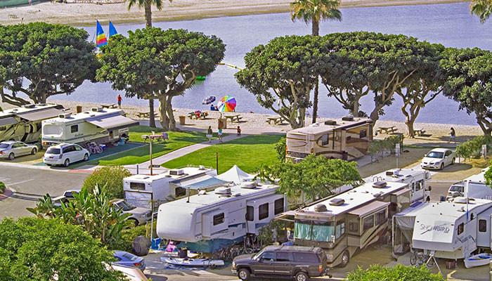 Newport Beach Camping Dunes