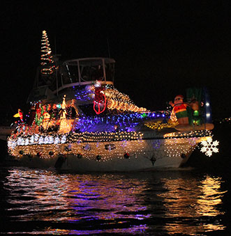 110th Newport Beach Christmas Boat Parade