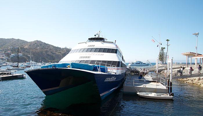 Catalina Flyer Ferry Newport Beach