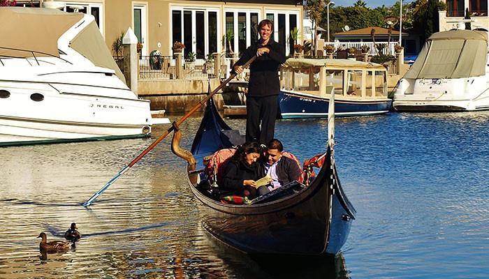 Gondola Ride Newport Beach