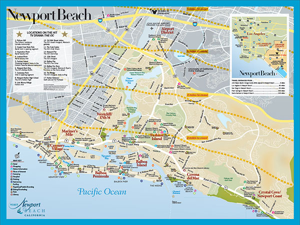 Directions to Newport Beach Newport Beach Directions