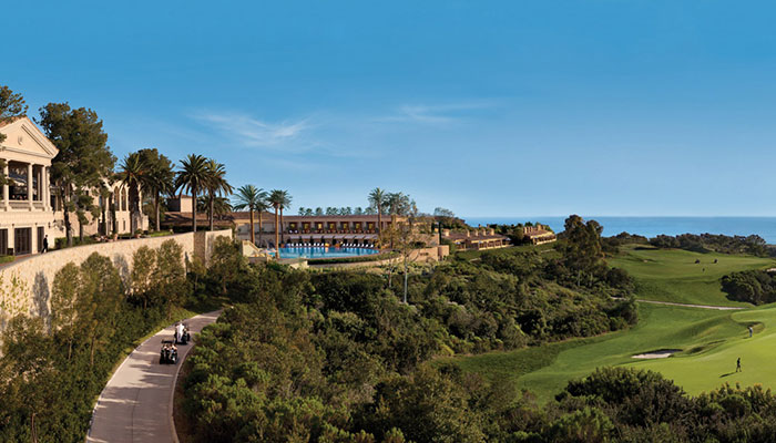 New Year's Day at The Resort at Pelican Hill