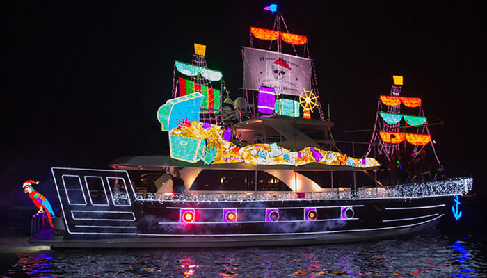 111th Newport Beach Christmas Boat Parade