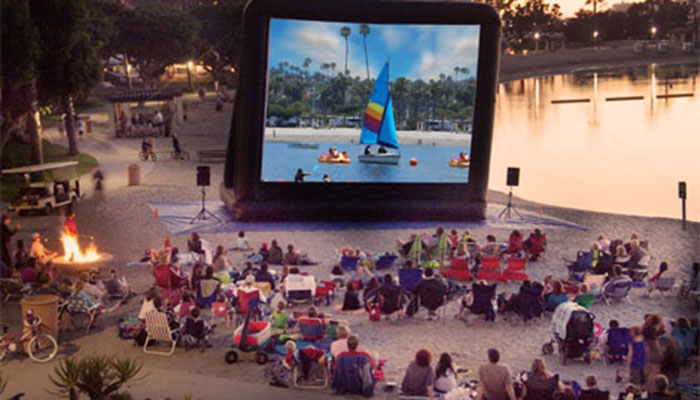 Newport Dunes Movies On The Beach Home Alone