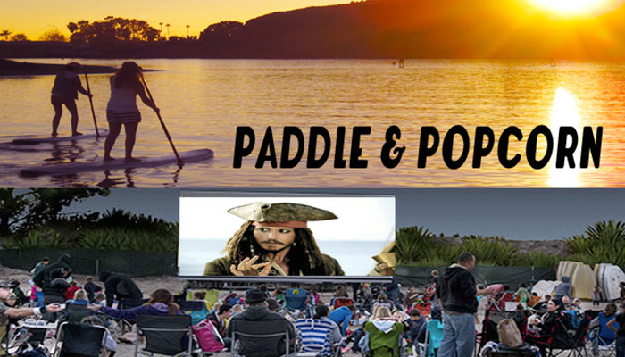 Sunset Paddle & Movie on the Beach-Surf's Up