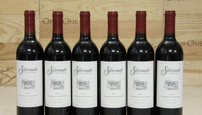 Wine Dinner Series with Silverado Vineyards
