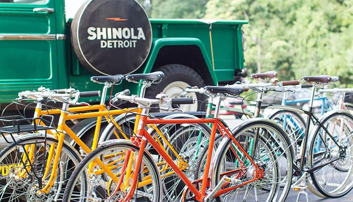 Shinola Bike Tour