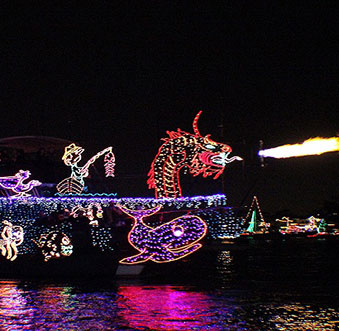 Star-studded Fanfare Planned Ahead of Christmas Boat Parade