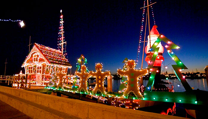 Christmas Boat Parade Newport Beach - Top 5 Holiday Events Of The Season Visit Newport Beach