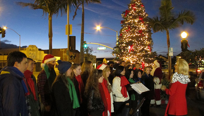 christmas at the beach event visit newport beach - Christmas At The Beach