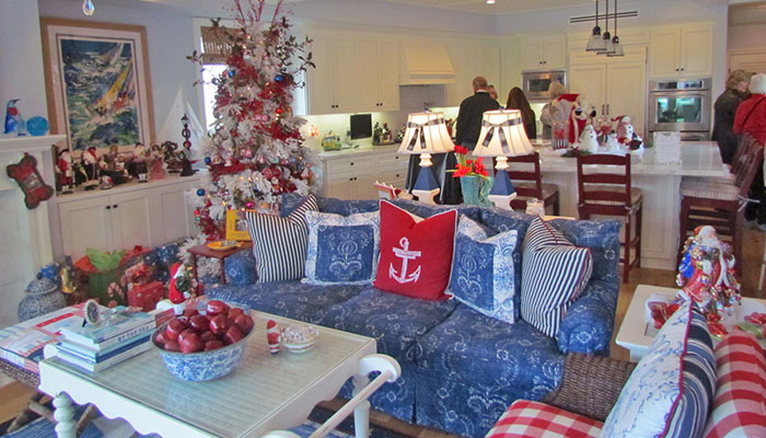 Balboa Island Holiday Home Tour