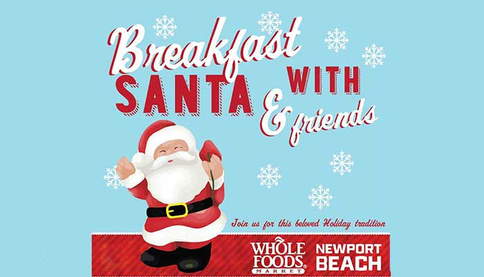 Breakfast with Santa at Whole Foods