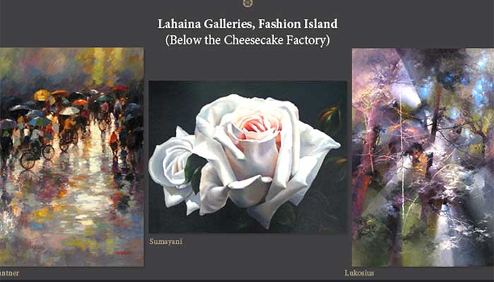 Lahaina Galleries Trunk Show