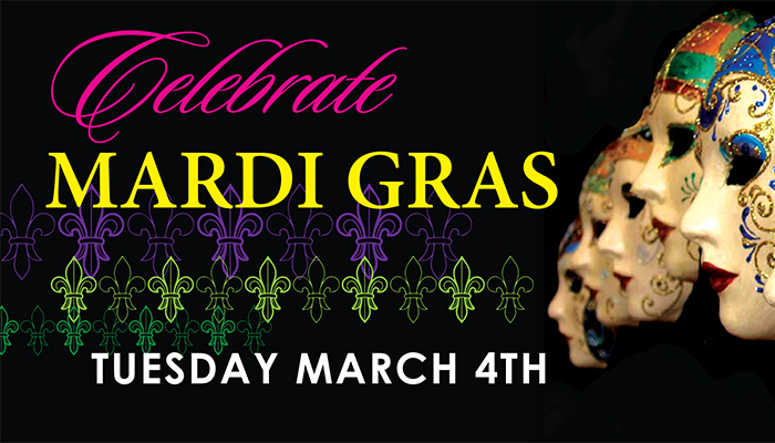Fat Tuesday Celebration at Cannery