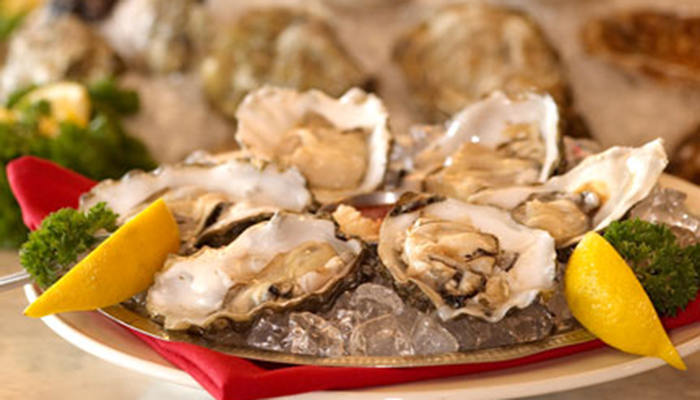 Foods of Love: Oysters and Champagne
