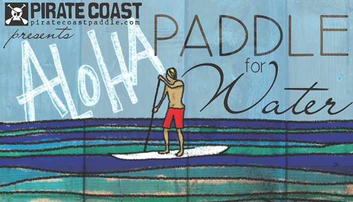 Aloha Paddle For Water 2104