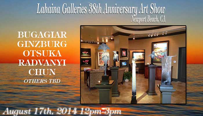 38th Anniversary Event Lahaina Galleries