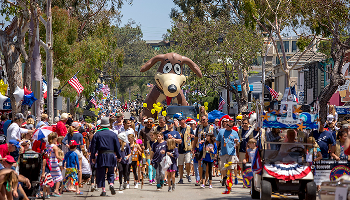 Balboa Island Parade