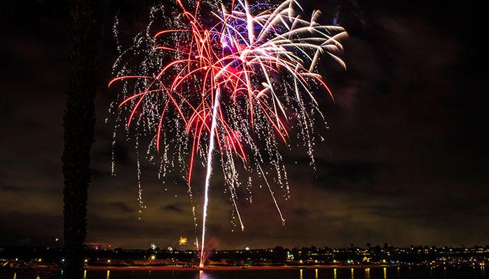 July 4th Fireworks & Parade Cruises at Newport Landing