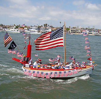 Old Glory Boat Parade