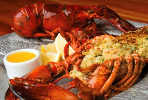 Bluewater Grill- stuffedlobster