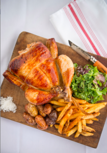 Moulin Poulet Frites with Rotisserie Chicken