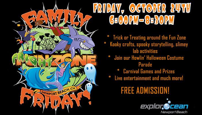 Family Fright Zone Friday