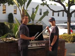 Firefighter Brett McAllister and Paramedic Rick Lazar