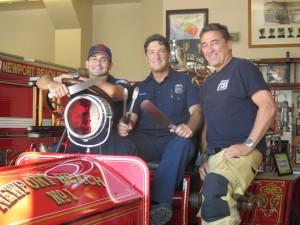 Lloyd Ellis, John Testa & Captain Glenn White
