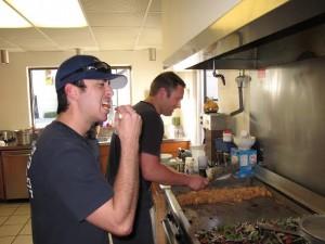 Paramedic Rick Lazar and Firefighter Mark Garman