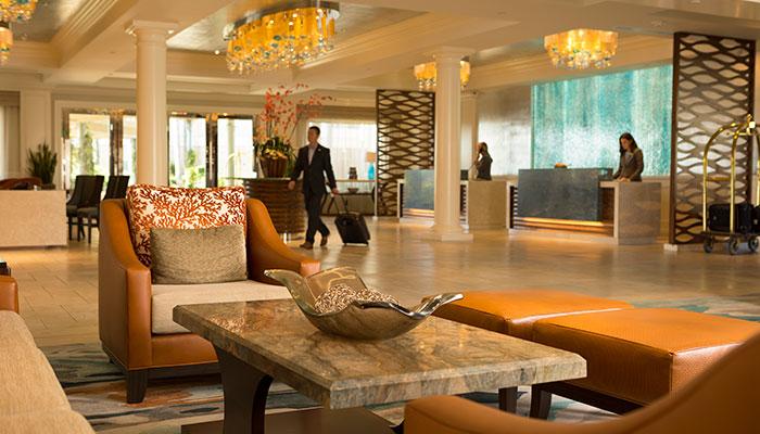 Balboa Bay Resort Front Desk