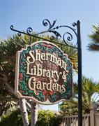 Sherman Gardens Sign