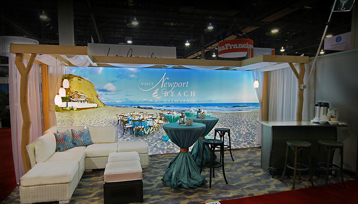 Newport Beach Came to Life on Convention Floor, Generating Colossal Impact With Group Sales Clientele