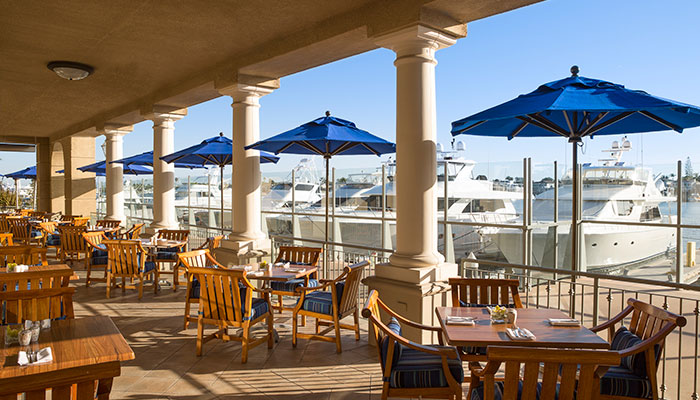 Balboa Bay Resort Outdoor Dining