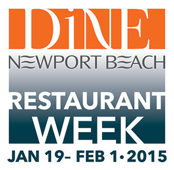 Dine Newport Beach Restaurant Week 2015