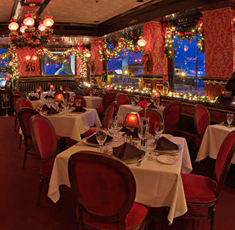 Restaurants Dressed With Holiday Sparkle