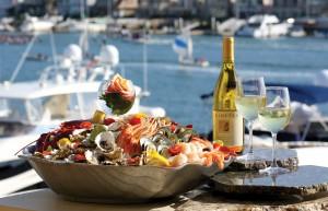 Seafood and Trinitas