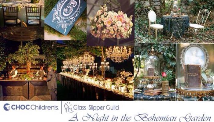 CHOC Children's Glass Slipper Guild A Night in the Bohemian Garden Gala
