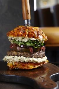 A&O Kitchen Kobe Burger (Andrea Bricco Photography)