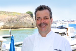 Chef Bruno Back Bay Bistro Head shot on Bay