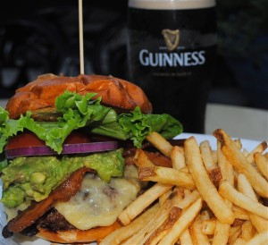 Muldoon's St. Paddy's Burger (Photo Marissa Armstrong)