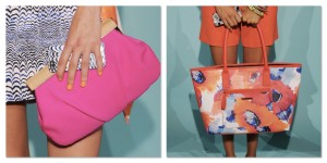 Trina Turk bright bags