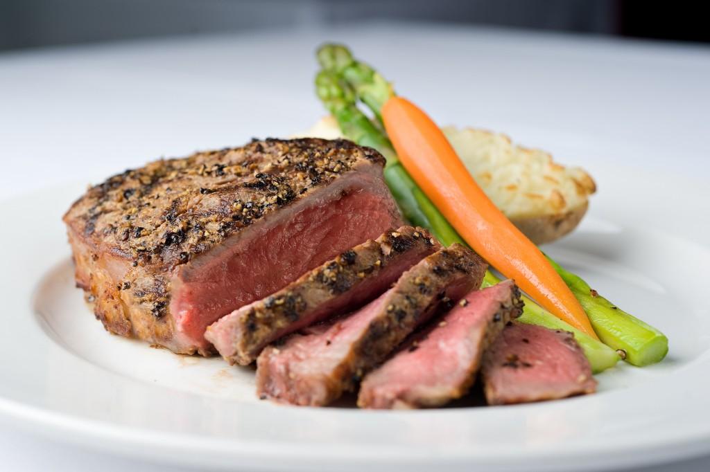 21st Oceanfront Sliced Steak (Bobby Palmer)