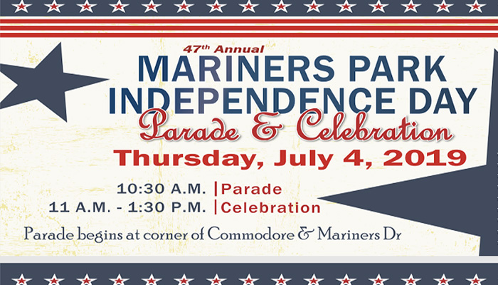 Mariners Park Independence Day Parade & Celebration