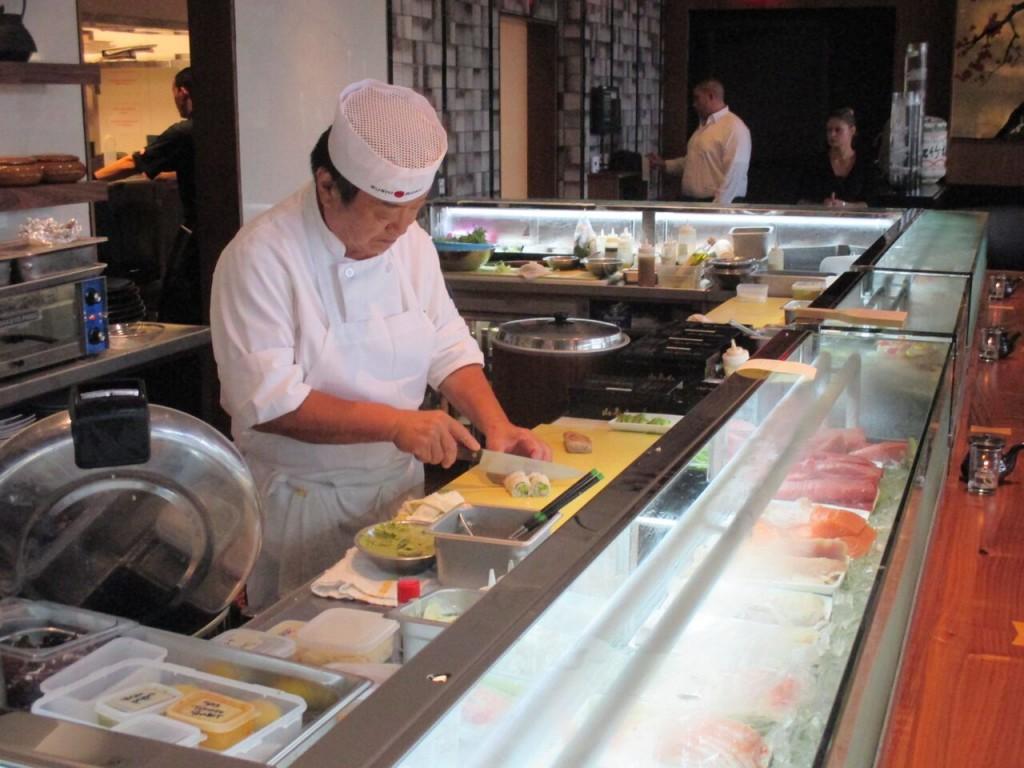 Sushi Roku Chef Newport Beach