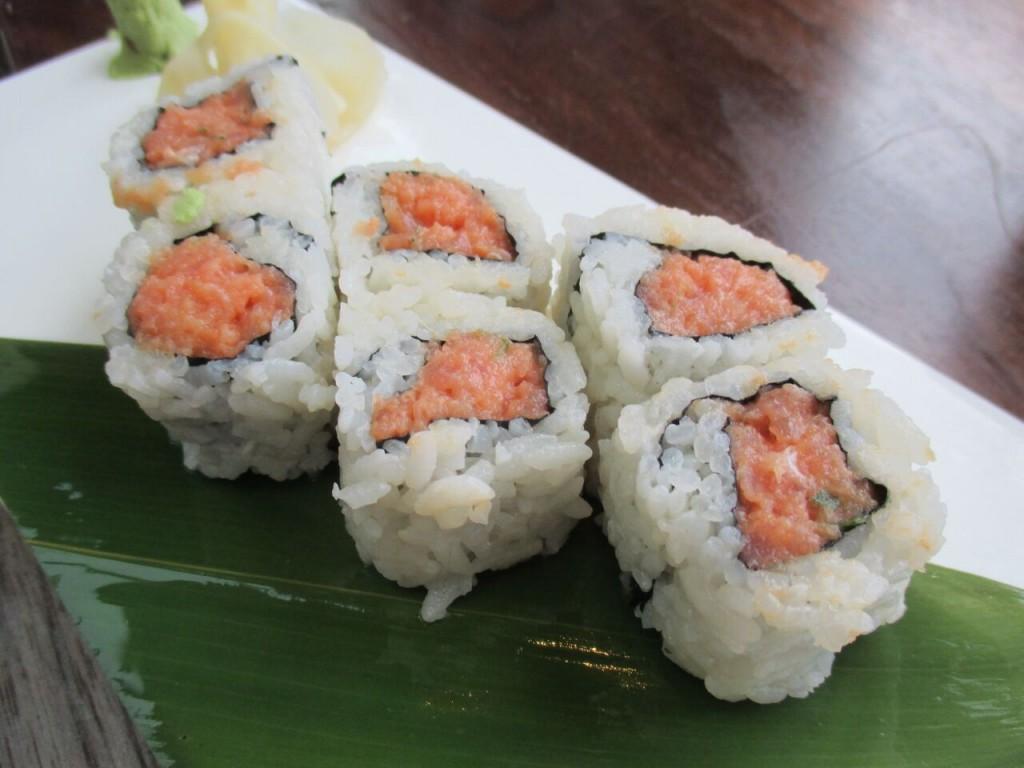 Spicy Tuna Roll sushi roku newport beach
