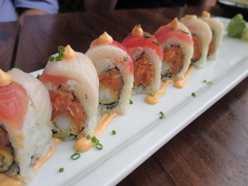 Katana Roll sushi roku newport beach