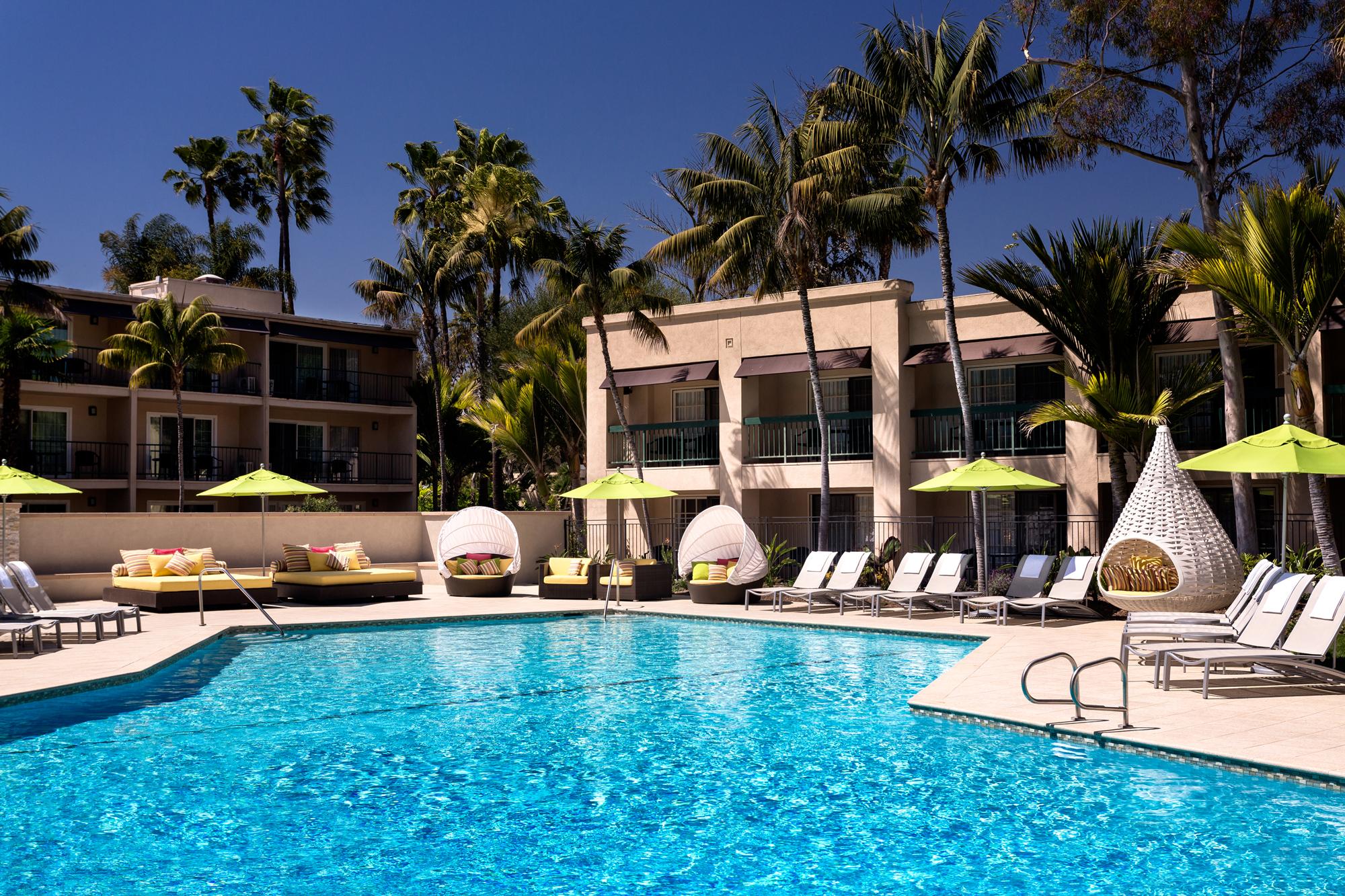 Poolside Dining Visit Newport Beach
