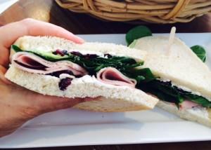 Cafe Zuzu & Coco Ham Sandwich (Cafe Zuzu & Coco)
